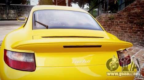 Porsche 911 (997) Turbo v1.0 para GTA 4 vista lateral