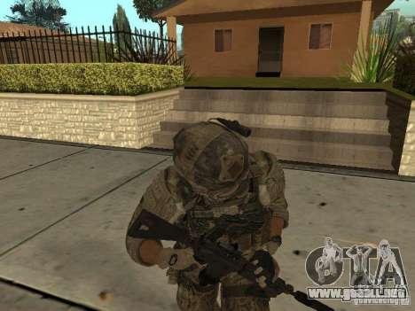 M4A1 con ACOG de CoD MW3 para GTA San Andreas sucesivamente de pantalla