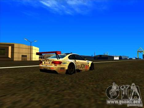 BMW M3 GT ALMS GT2 Series para GTA San Andreas left