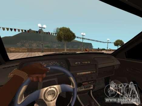 BESTIA ВАЗ 2114 para GTA San Andreas vista posterior izquierda