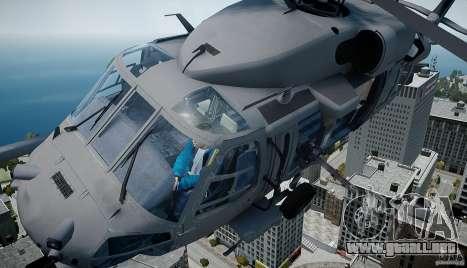 HH-60G Pavehawk para GTA 4 Vista posterior izquierda
