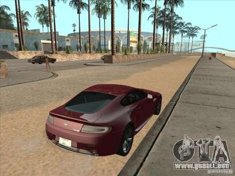 Aston Martin v8 Vantage n400 para GTA San Andreas left