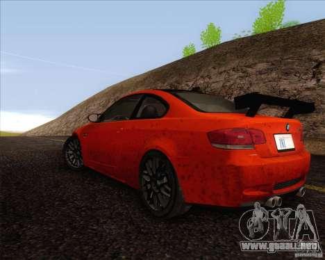 BMW M3 GT-S para la visión correcta GTA San Andreas