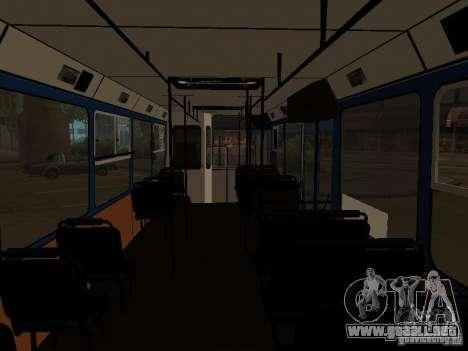 YAZ 5267 para GTA San Andreas vista hacia atrás