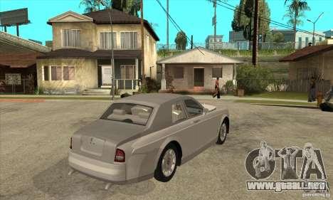Rolls Royce Coupe 2009 para la visión correcta GTA San Andreas