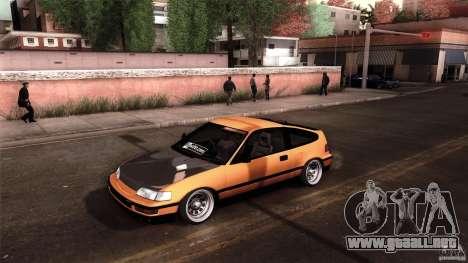 Honda CRX JDM para GTA San Andreas