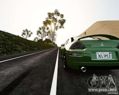 Mitsubishi Eclipse GT-S para GTA 4 Vista posterior izquierda