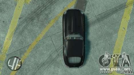 Jaguar XK E-type para GTA 4 visión correcta