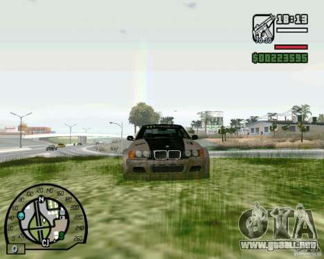 BMW E36 Wide Body Drift para GTA San Andreas left