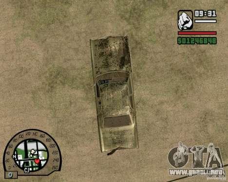 Plymouth Fury III para visión interna GTA San Andreas