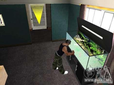 Acuario para GTA San Andreas séptima pantalla