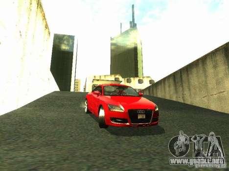 Audi TT 2009 v2.0 para GTA San Andreas left
