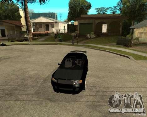 Skoda Superb HARD GT Tuning para vista lateral GTA San Andreas