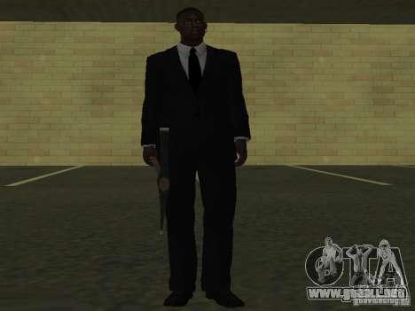 Los guardaespaldas para GTA San Andreas quinta pantalla