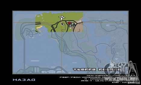 Relajación en el valle para GTA San Andreas sucesivamente de pantalla