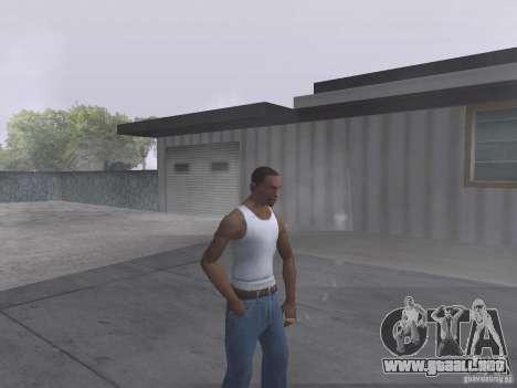 La capacidad de humo para GTA San Andreas segunda pantalla