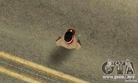 New Era Cap para GTA San Andreas quinta pantalla