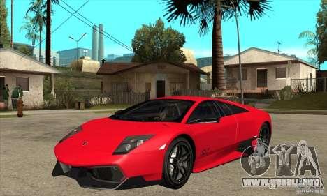Lamborghini Gallardo LP570-4 SV para GTA San Andreas