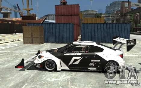 Scion tC AWD V1.0 para GTA 4 left