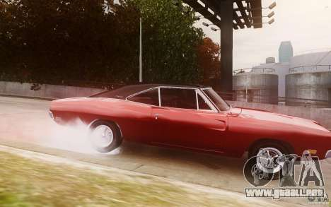 Dodge Charger 440 1969 para GTA 4 left