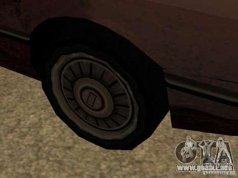 Daños realista para GTA San Andreas quinta pantalla