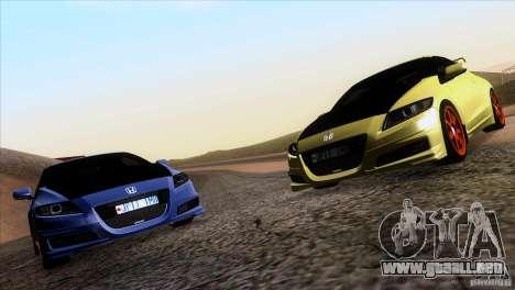 Honda CR-Z Mugen 2011 V1.0 para la visión correcta GTA San Andreas
