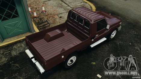 Toyota Land Cruiser Pick-Up 2012 para GTA 4 visión correcta