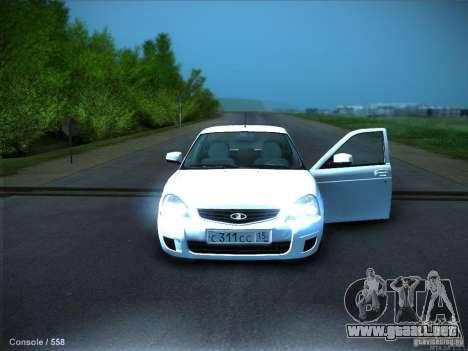 LADA 2170 KTA para vista lateral GTA San Andreas