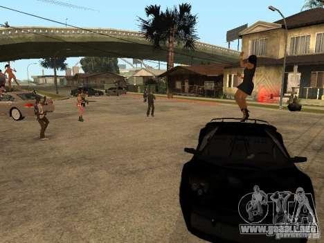 Pati en Groove st. para GTA San Andreas
