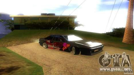Toyota AE86 Coupe - Final para la visión correcta GTA San Andreas