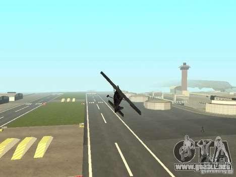 Un nuevo avión-Dodo para la vista superior GTA San Andreas