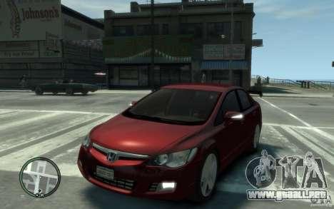 Honda Civic 2006 para GTA 4
