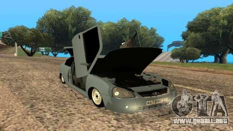 LADA Priora 2172 para el motor de GTA San Andreas
