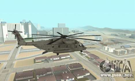 Sikorsky MH-53 para GTA San Andreas left