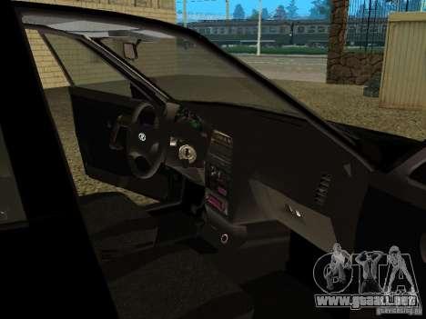 VAZ 2110 para GTA San Andreas interior
