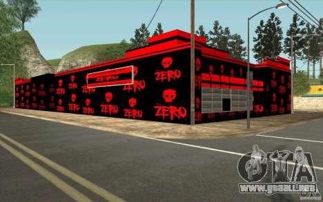 Una aldea nueva Dillimur para GTA San Andreas quinta pantalla