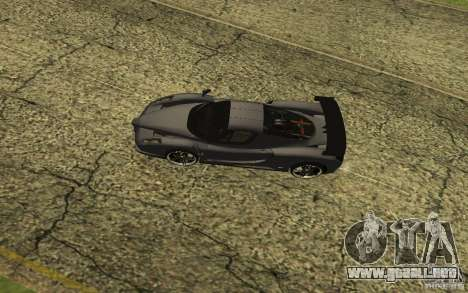 Ferrari Enzo ImVehFt para GTA San Andreas left