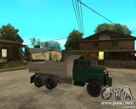 Camión ZIL 133 para la visión correcta GTA San Andreas