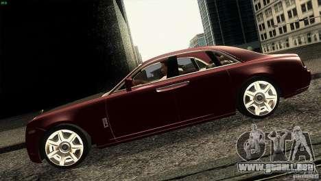 Rolls-Royce Ghost 2010 V1.0 para GTA San Andreas left