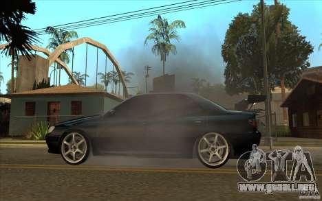 Peugeot 406 Taxi para GTA San Andreas left