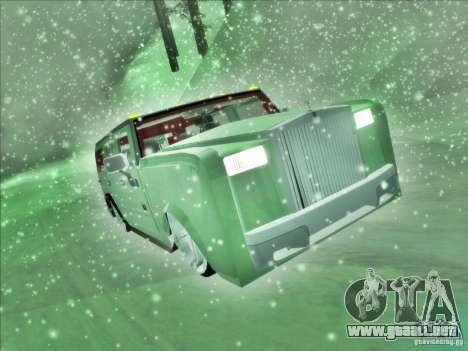 Hummer H2 Phantom para la visión correcta GTA San Andreas