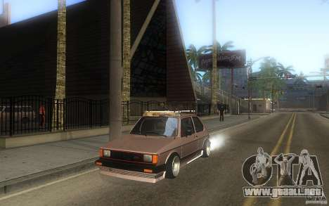 Volkswagen Golf GTI rabbit euro style para vista lateral GTA San Andreas
