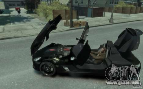 Mercedes Benz SLR McLaren Stirling Moss 2010 EPM para GTA 4 left