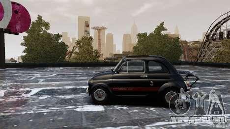 Fiat 500 695 Abarth para GTA 4 left
