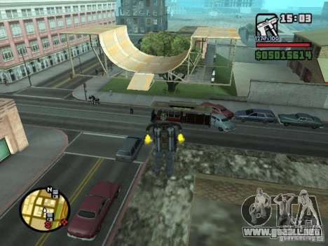 Edificio de viviendas 3 (y no sólo) para GTA San Andreas segunda pantalla