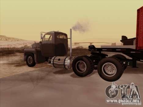 Mack B 61 para la visión correcta GTA San Andreas