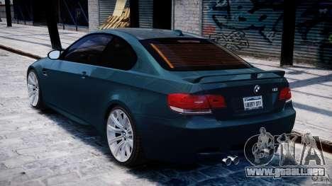 BMW M3 E92 stock para GTA 4 visión correcta
