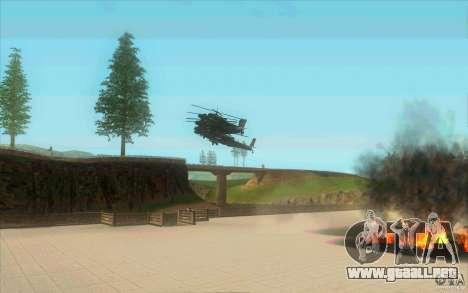 6 estrellas para GTA San Andreas sucesivamente de pantalla