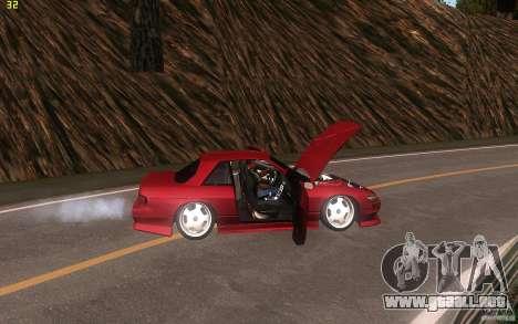 Nissan Silvia S13 Clean Edition para visión interna GTA San Andreas