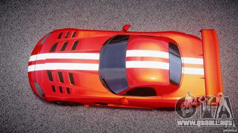 Dodge Viper RT 10 Need for Speed:Shift Tuning para GTA 4 visión correcta